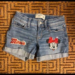 Abercrombie Mini Mouse Shorts